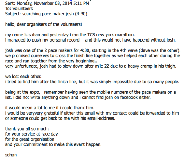 Sohan Email #1