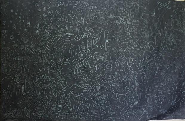 Blackboard Noise
