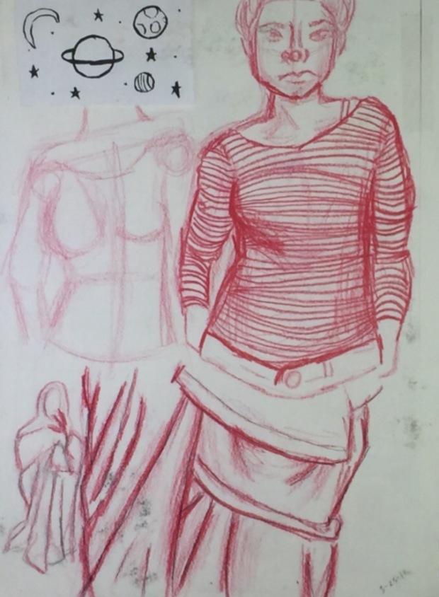 Sketchbook Sample #1